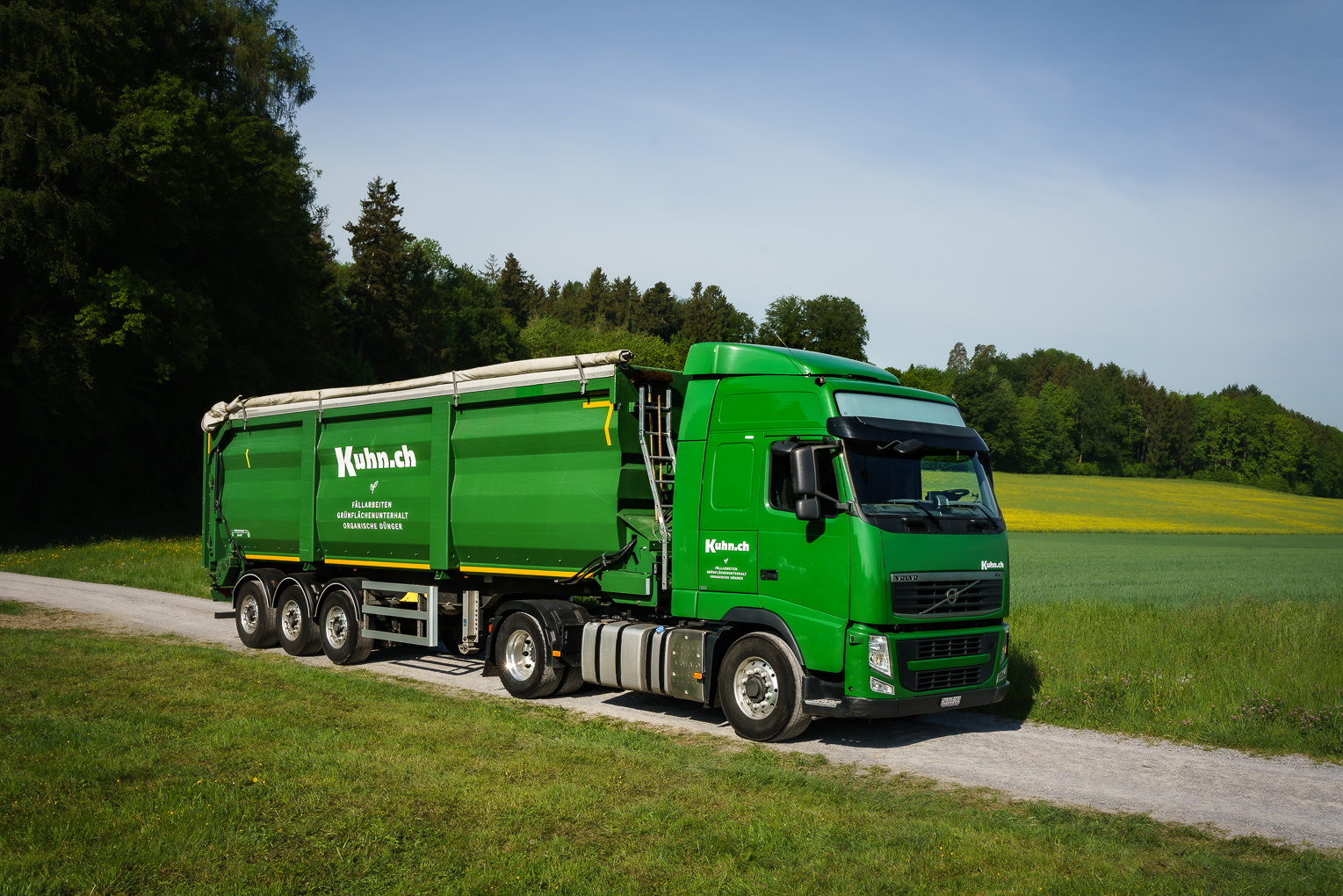 Lastwagen Sattelschlepper