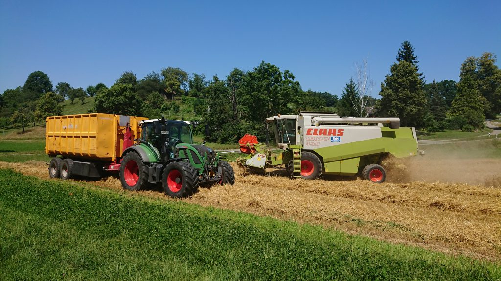Getreide transport